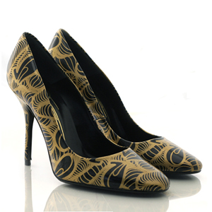 :: Insa Heels :: :  heels shoes black tan